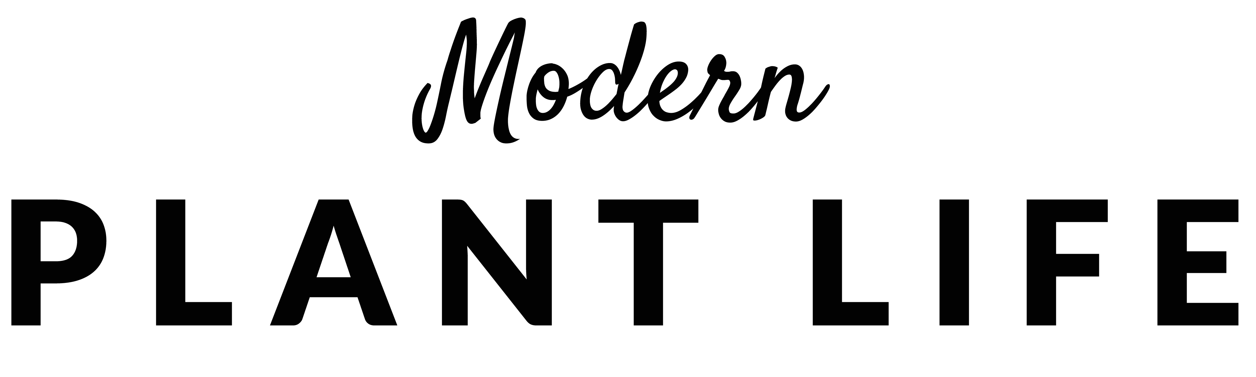 Modern Plant Life